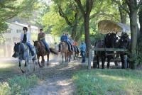 Woodside Ranch Resort - Reiturlaub auf einer Dude Ranch nördlich von Wisconsin Dells, USA!