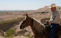 Reiturlaub in Nebraska an der Gebietsgrenze von Sioux und Dawes Land, USA!