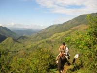 Reiturlaub auf der Barking Horse Farm in San Rafael de Puriscal in den Bergen von Costa Rica!