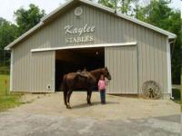 Kaylee Stables - Reiturlaub, auch mit dem eigenen Pferd in Henryville, Indiana!