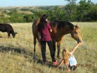 Ranchurlaub fuer Kinder in North-Dakota, USA! Pferde reiten und geniessen!