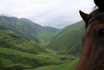 Wanderreiten im Kaukasus in Tusheti, Omalo / Alle Regionen