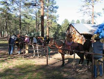 Geronimo Trail Guest Ranch in Winston / New Mexico