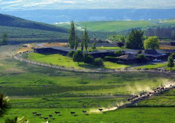 Sundance Guest Ranch in Ashcroft, British Columbia / Britisch Kolumbien