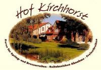 Hof Kirchhorst - Reiterurlaub und Reitkurse nahe der Ostsee / Ostseeküste