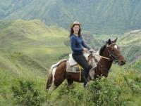 Reiturlaub auf einer von Deutschen geführten Pferdefarm nahe der Hauptstadt Quito, Ecuador!