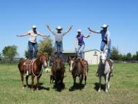Natural Horsemanship auf der TC Ranch in Texas (in der Nähe von Houston)