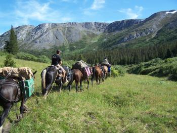 Indian River Ranch in Atlin / Britisch Kolumbien