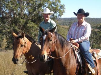 Cowboy Up Trail Riding in Crows Nest / Queensland