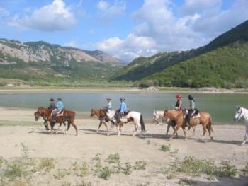 Altavia Horse Reiterferien in Carovilli / Abruzzen