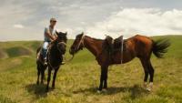 Wanderreiten durch die Tien Shan Bergwelt Kirgisistans und Jurtenaufenthalte auf unserer Pferdefarm