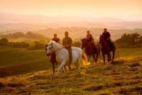 Traumhafte Reiterferien in der Toskana, auch für Anfänger, Agriturismo der Fattoria Pieve a Salti