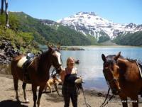 Reiturlaub im Süden von Chile auf Fundo Laguna Blanca -  Abenteuerritte und mehr..