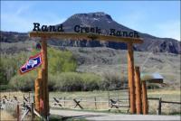Reiturlaub auf der Rand Creek Ranch zwischen Cody, Wyoming und Yellowstone National Park