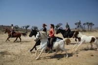 Reiten in Namibia durch die wilde Schönheit Afrikas auf der farm Gross Osombahe