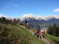 Unser Achlhof (Berg)Ritte und mehr... Reiturlaub in Ellmau am Wilden Kaiser in Tirol, Österreich