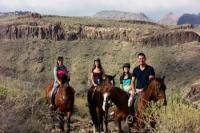 Reiten auf Gran Canaria! Erleben Sie die außergewöhnlich schöne Natur auf dem Rücken der Pferde.