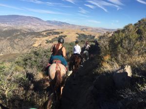 Pacific Crest Trail mit überwältigenden Aussicht