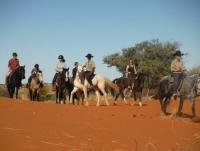 Reiturlaub in Namibia: Bagatelle Kalahari Game Ranch nahe Mariental am Rande der südlichen Kalahari