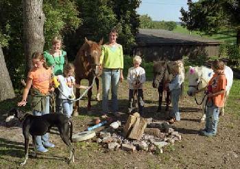 Western - Wanderreitverein Silver Horse Ranch Graupa nahe der Sächsischen Schweiz