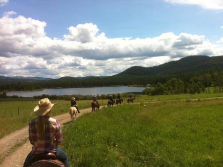Ausbildungsbetrieb, Ferien-/ Gästeranch, Ranch Resort in Kamloops