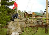 Graham Dunden Ranch * Recreation In The Saddle * Country-Western-Reiturlaub in Kanada, BC-Green Lake
