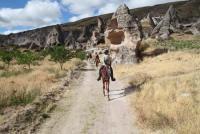 Reiturlaub in Kappadokien,im Land des schönen Pferdes auf dem Reiterhof Sinasos