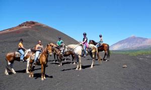Ausritt durch die Vulkanfelder