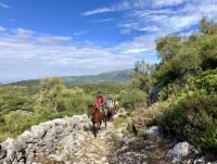 equiVentura - Reiten durch die Berge der Sierra de Cádiz in Andalusien - Touren für erfahrene Reiter