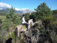 Finca Jarahonda - Reiten in der Sierra de Madrid im Guadarrama National Park, Spanien!