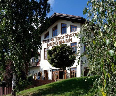 Reit & Sporthotel Nordmann in Arnstein OT Stangerode / Sachsen-Anhalt