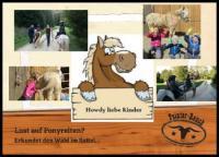 Reiturlaub auf der Pointer-Ranch in Auernheim. Der Ponyhof auch für die ganz kleinen Gäste!