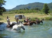 Reiturlaub in der schönen Natur Südfrankreichs in Cubieres mit Blick auf die Pyrenäen!