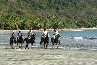 Reiterurlaub im tropischen Paradies in der Naturelodge Finca los Caballos in Montezuma, Costa Rica