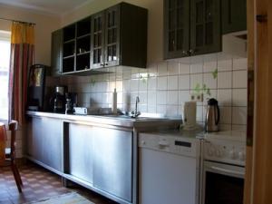 Küche für die Ferienzimmer