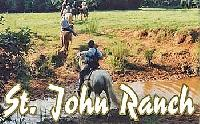 Reiturlaub auf der  St. John Ranch and Lodge - Reiterferien in Louisiana - USA