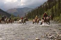 Reiturlaub in den kanadischen Rocky Mountains