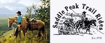 Saddle Peak Trail Rides in Cochrane - zwischen Calgary und Banff / Alberta