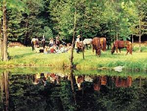 Picknick an der alten Wassermühle