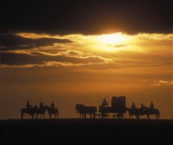 Prairie Sky Guest Ranch in Veblen / South-Dakota