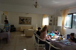 Essens- und Aufenthaltsraum