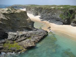 Steilküste bei Milfontes