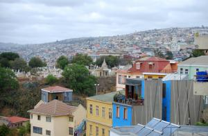 Valparaiso Künstlerstadt Kneipen Cafes Kultur