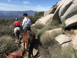 Aufstieg zum Pacific Crest Trail