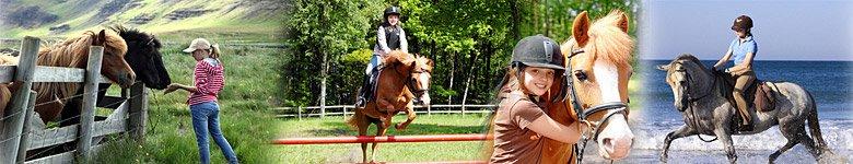 Reiterferien für unbegleitete Kinder und Jugendliche